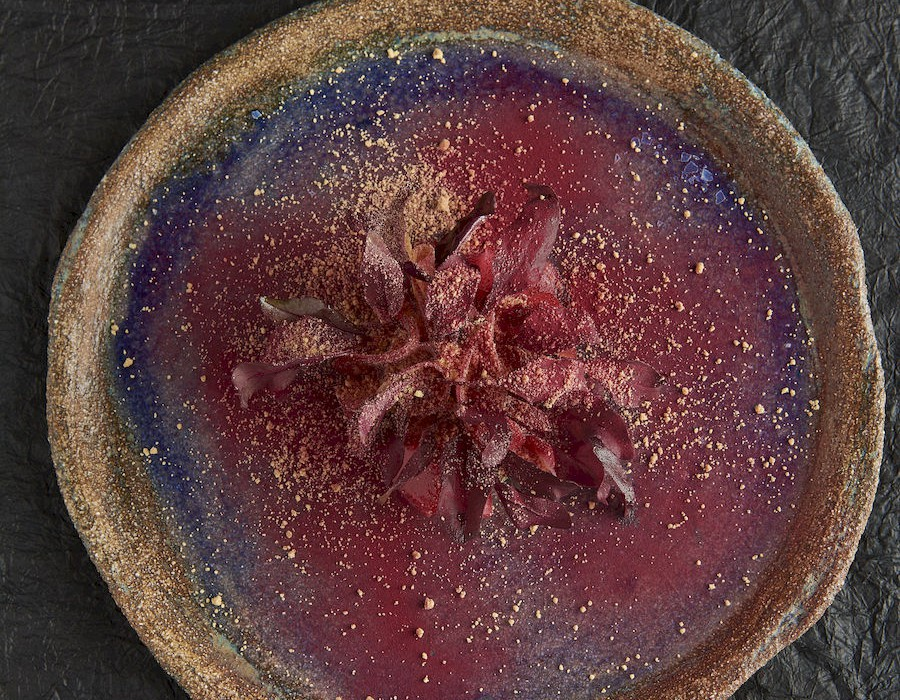 Adam Handling dish - Beetroot, beetroot and more beetroot