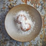 "Handmade stone bowl 7.6"""